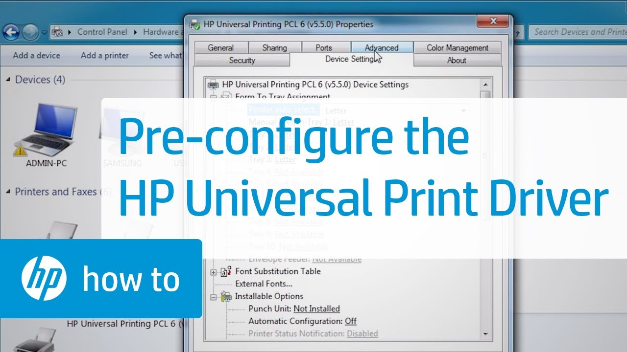 how to add additional drivers manually to printer server