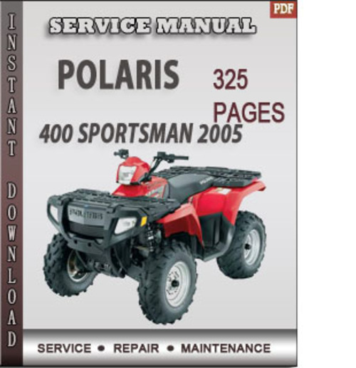 2005 polaris sportsman 400 service manual pdf