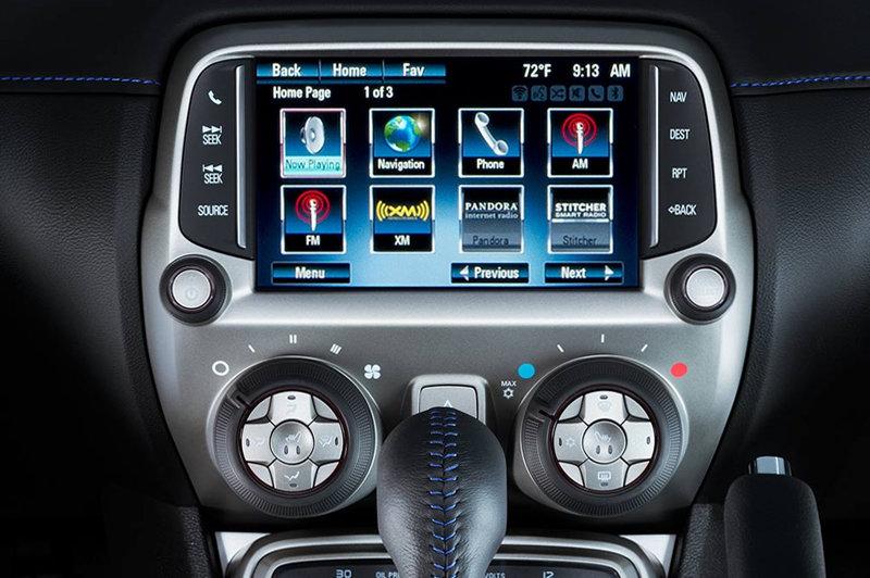 2015 chevrolet camaro infotainment manual