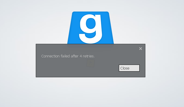 manually connecting to gmod server