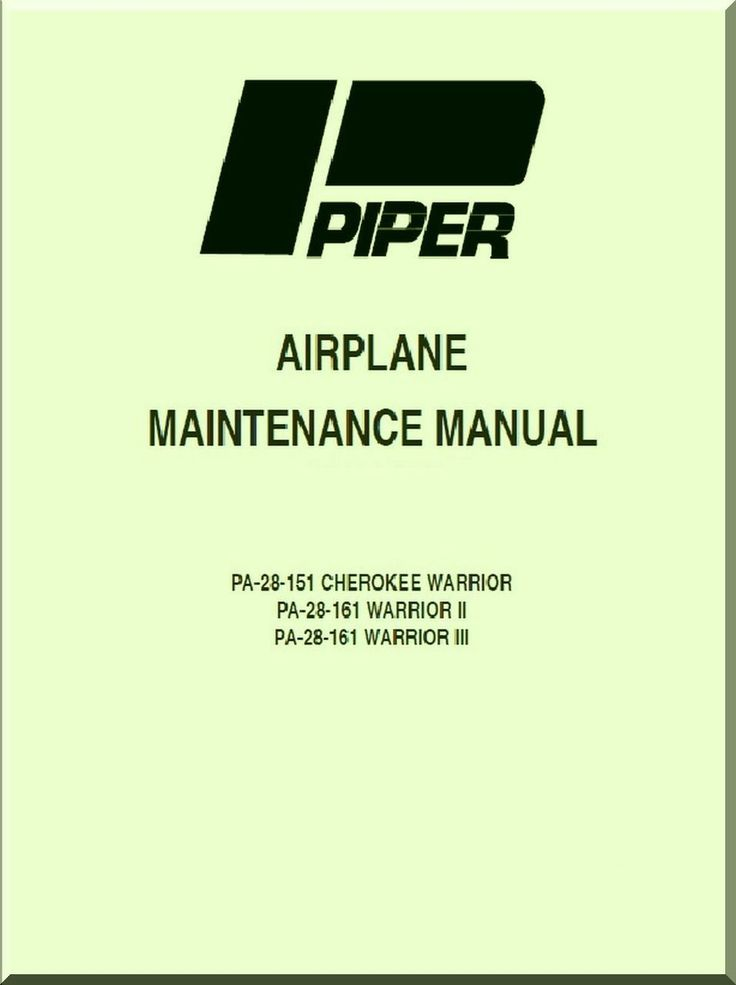 piper aircraft mainenance manual ir941202