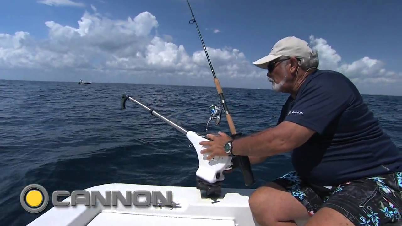 how to mount the cannon uni-troll 10 stx manual downrigger