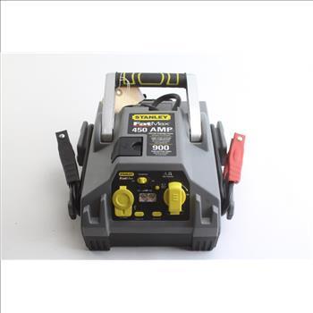 manual stanley 450 amp jump starter