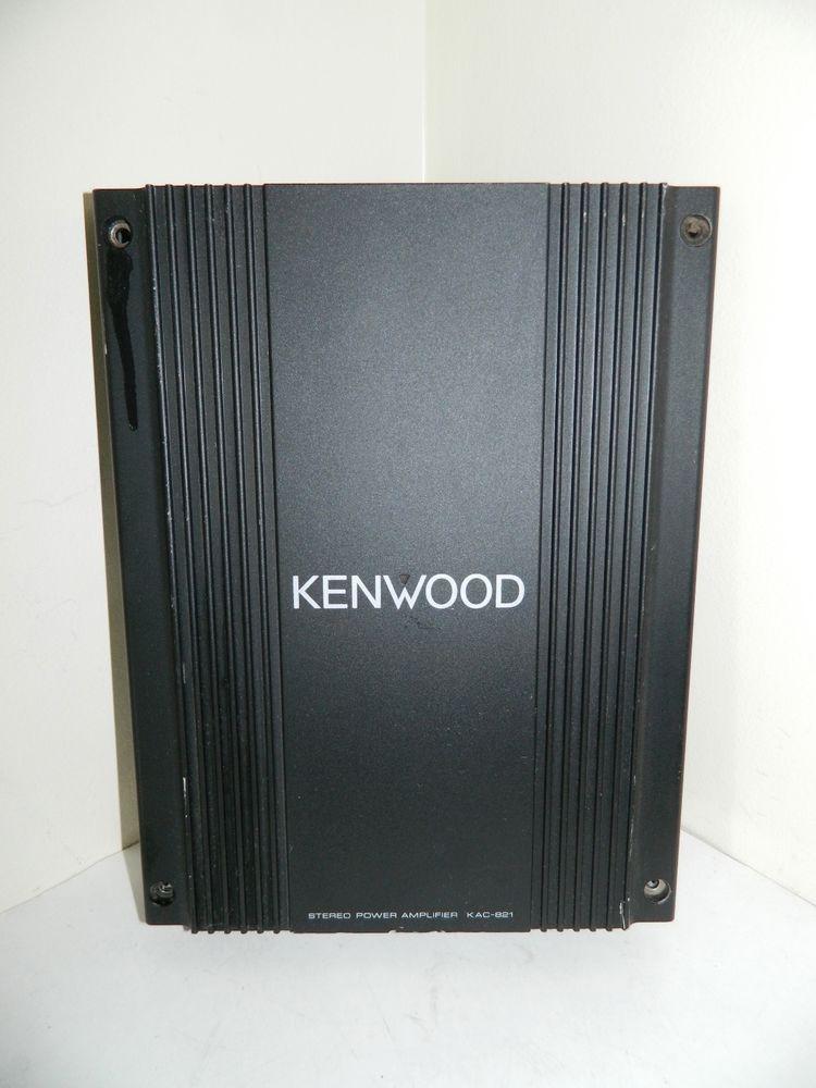 kenwood stereo power amplifier manual