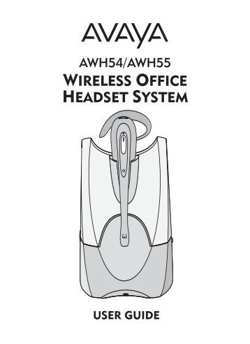 avaya one-x 9650 user manual