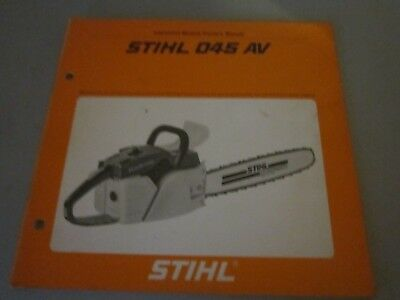 stihl chainsaw manual 024 av