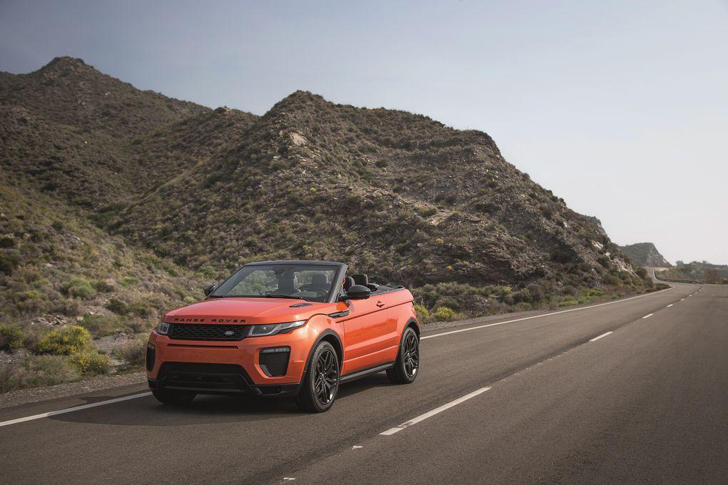 range rover evoque convertible user manual
