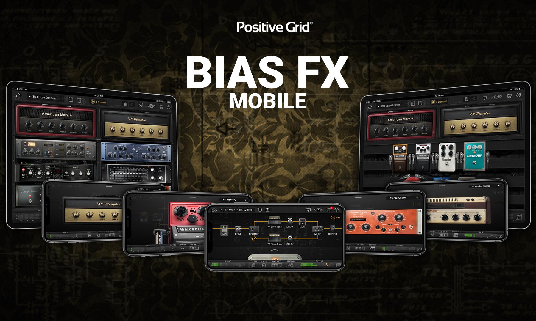positive grid bias rack user manual