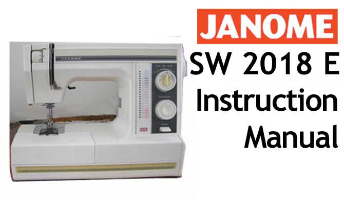 janome qc 6260 user manual