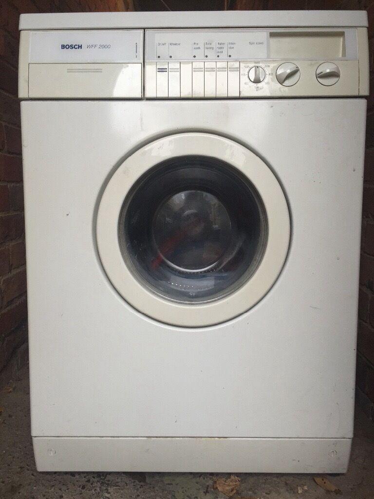bosch classixx 6 washing machine manual