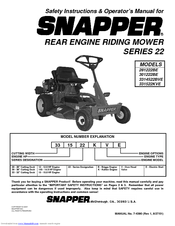 snapper series 4 5 and 6 service manual