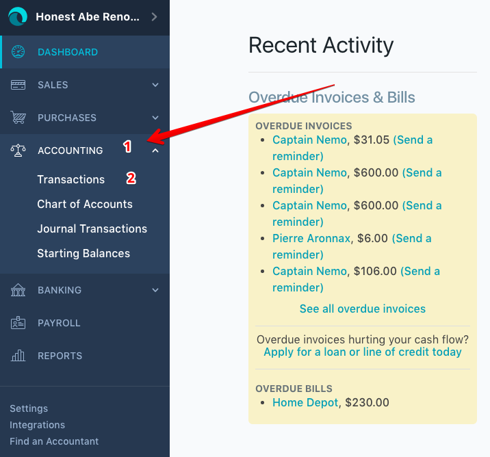 add income manually in mint