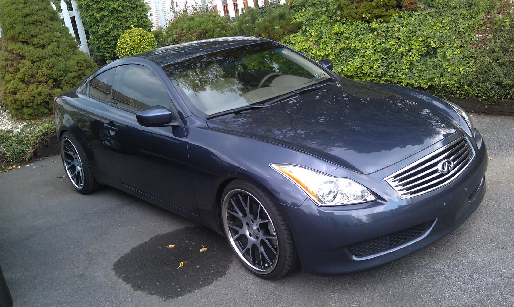 2009 infiniti g37 sport coupe manual