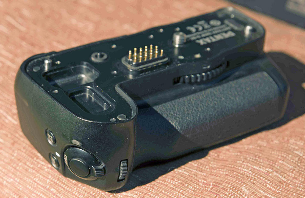 pentax d-bg4 battery grip manual