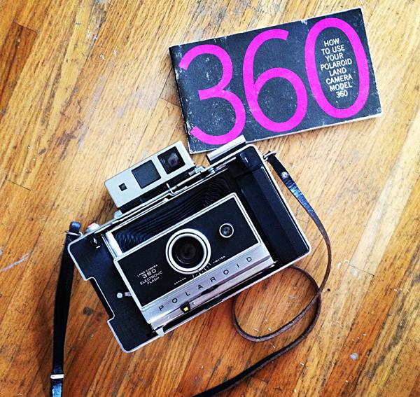 polaroid 360 land camera manual