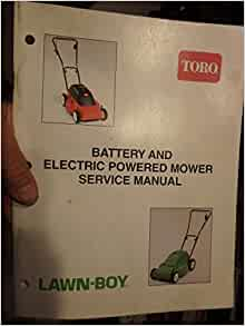 lawn boy 10685 owners manual