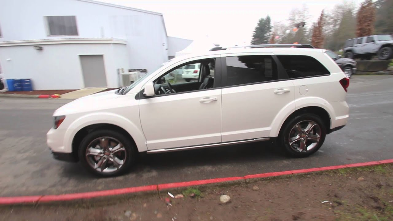 dodge journey 2016 crossroad manual