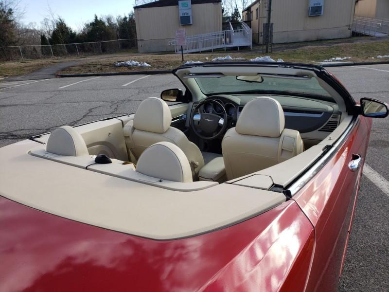 chrysler sebring 2008 convertible owners manual