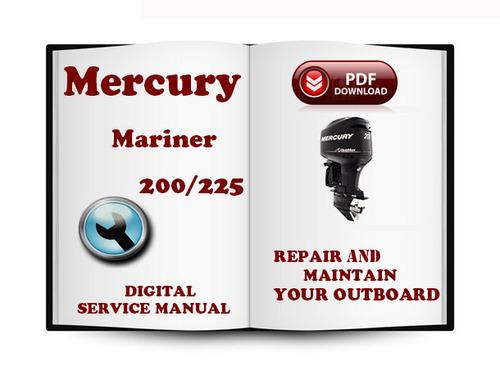 2002 mercury 225 optimax owners manual