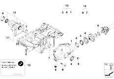 bmw 530 radiator manual transmission