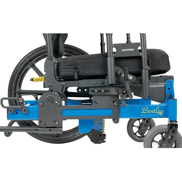 radius of a manual wheelchair