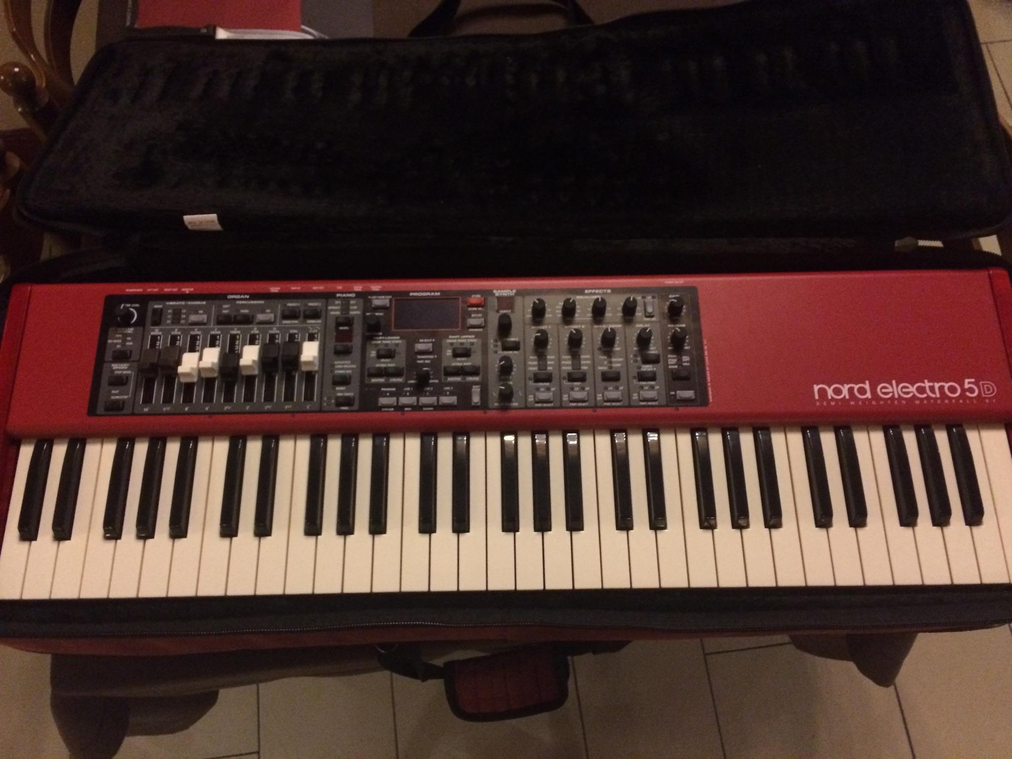 nord electro 5d 61 manual