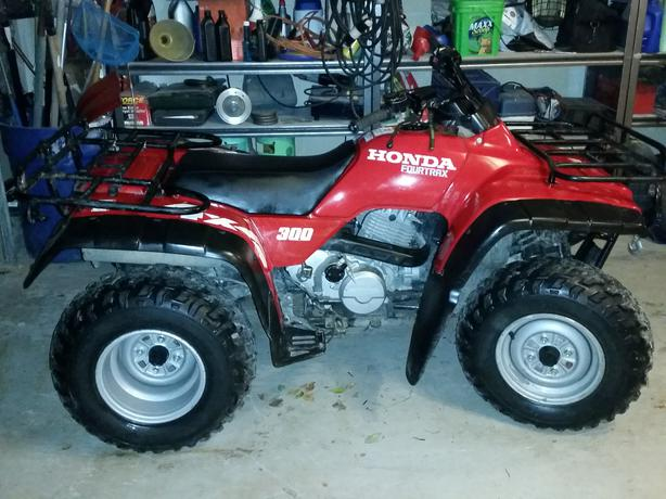1997 honda 300 atv manual