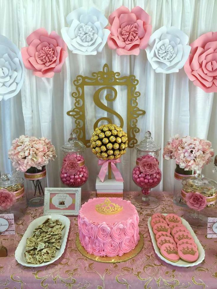 decoraciones manuales para baby shower
