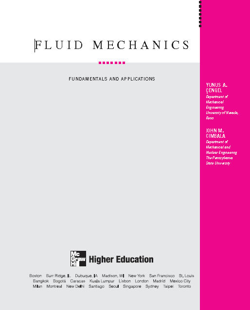 fluid mechanics by frank m white 6th edition solution manual