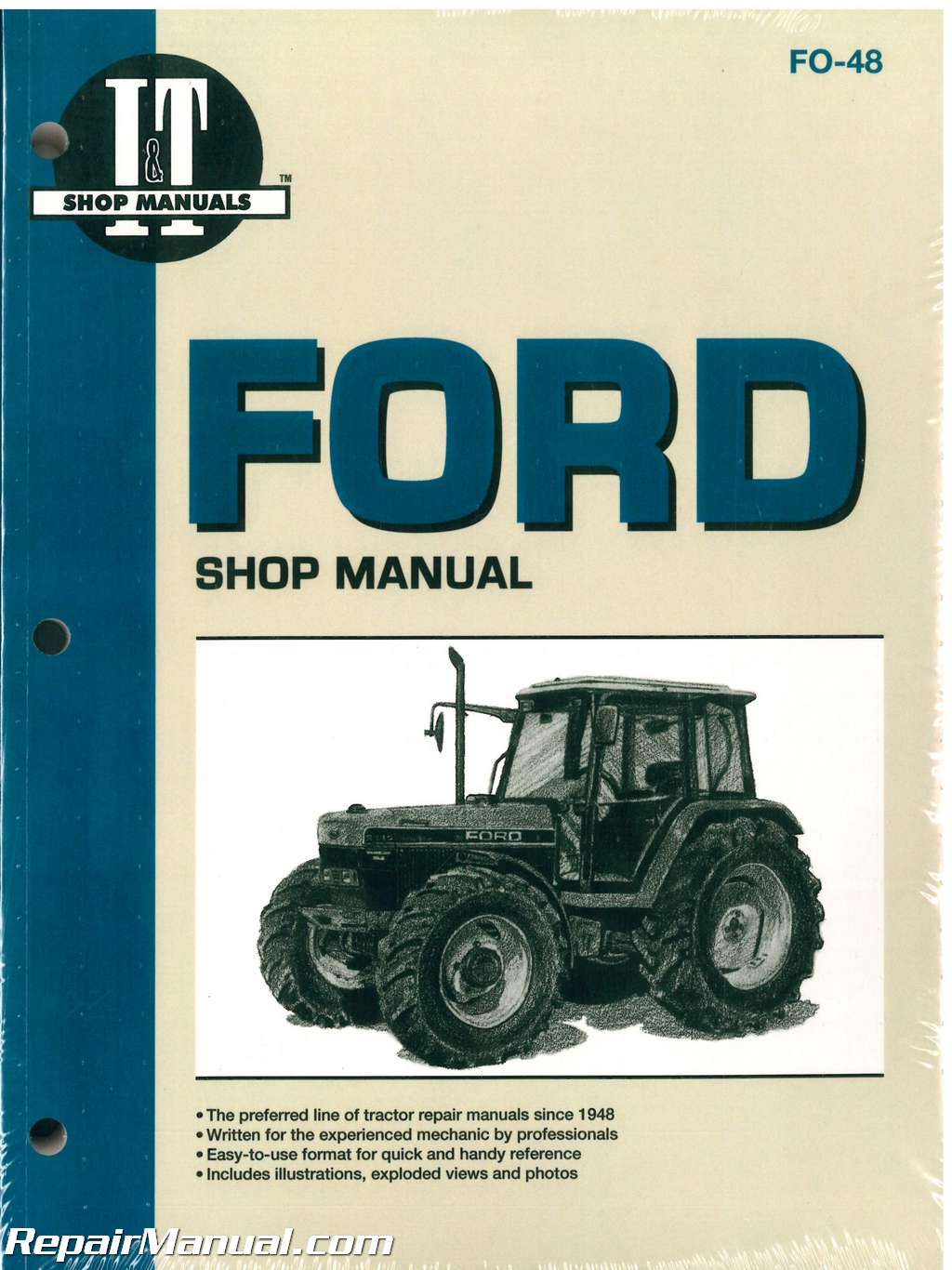 ford tractor shop manual download