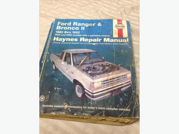 haynes repair manual ford ranger pdf