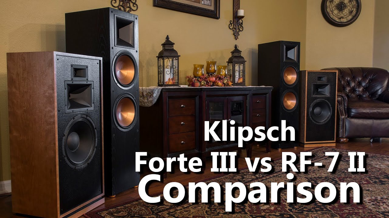 klipsch rf 7 ii manual