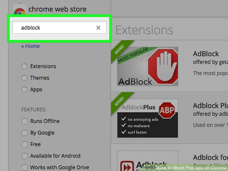 manually add adblock plus to chrome