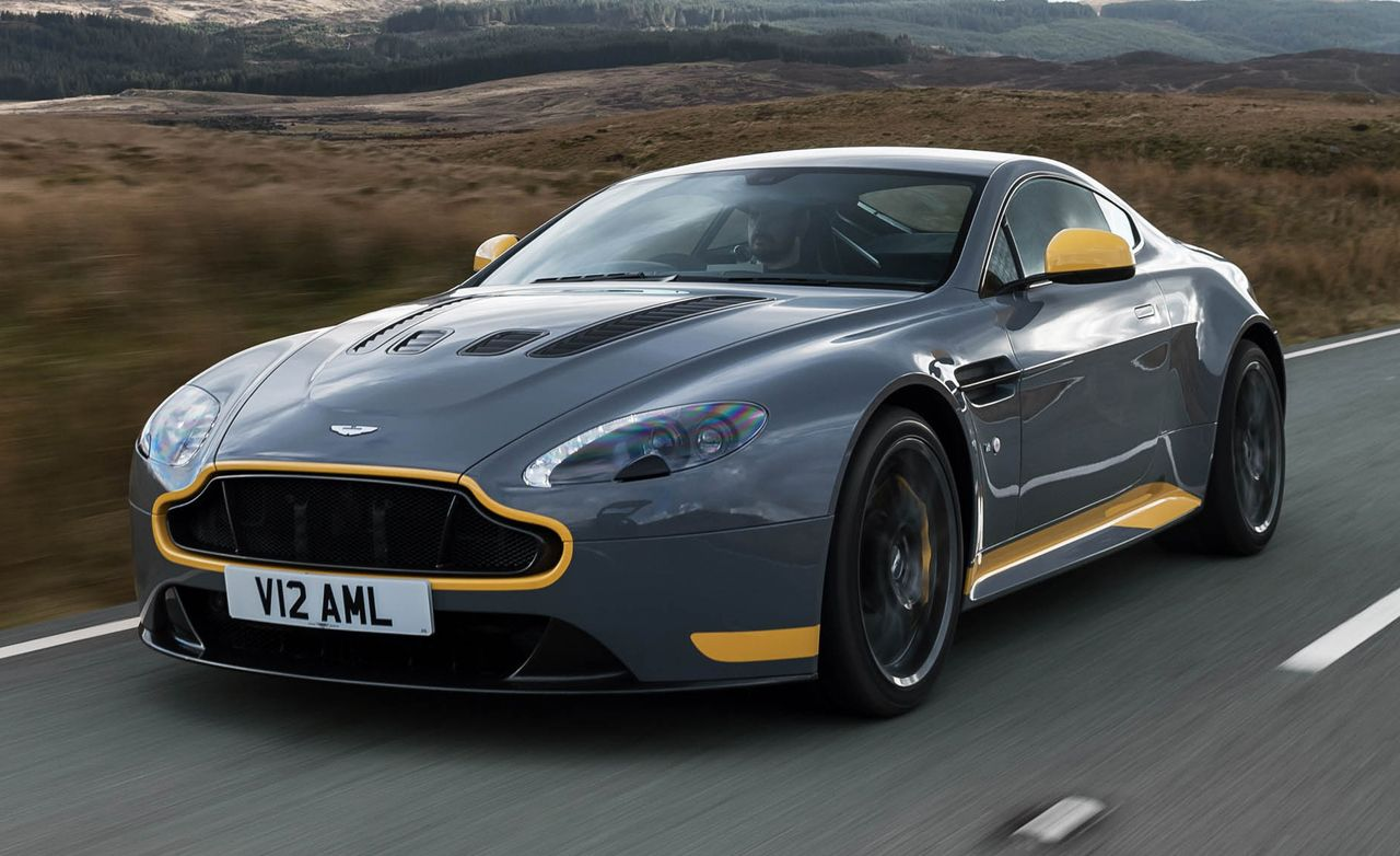 new aston martin vantage manual