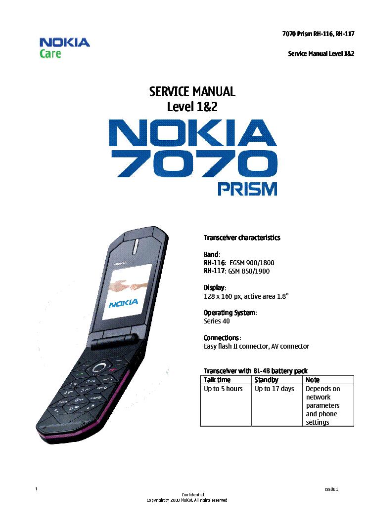 nokia c3-01 service manual pdf