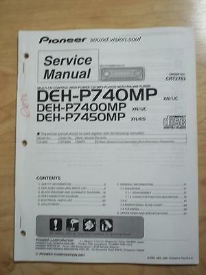 pioneer deh-p770mp installation manual