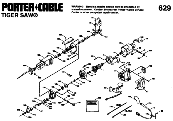 porter cable tiger saw 747 manual