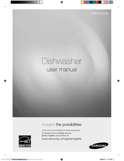 samsung dishwasher dmt300rfb user manual