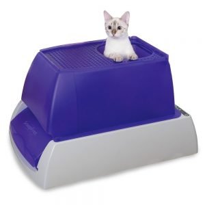 scoopfree self-cleaning litter box manual