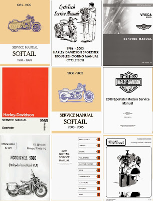 service manual harley davidson motor company