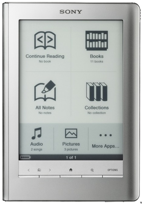 sony ereader manual prs 600
