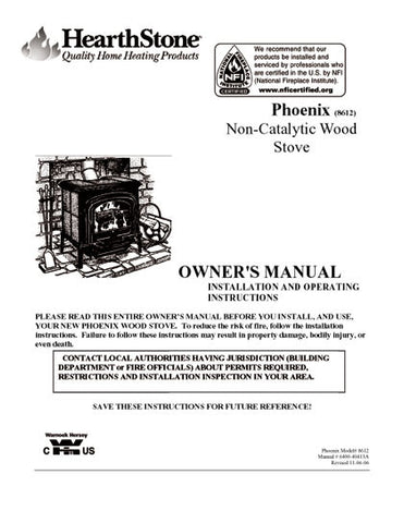 spg dynasty wood stove manual