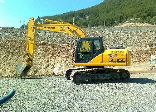 sumitomo excavator s100 service manual
