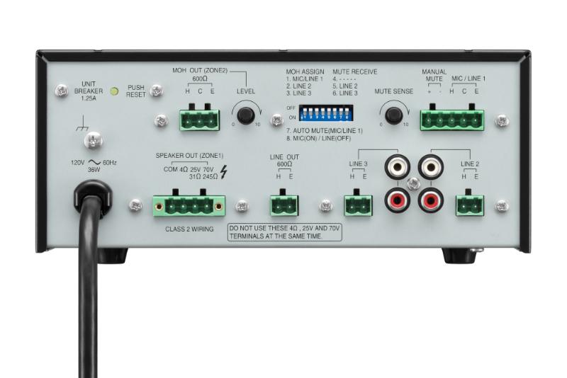 toa pa amplifier a-2240 manual