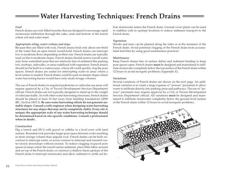 tucson water harvesting guidance manual