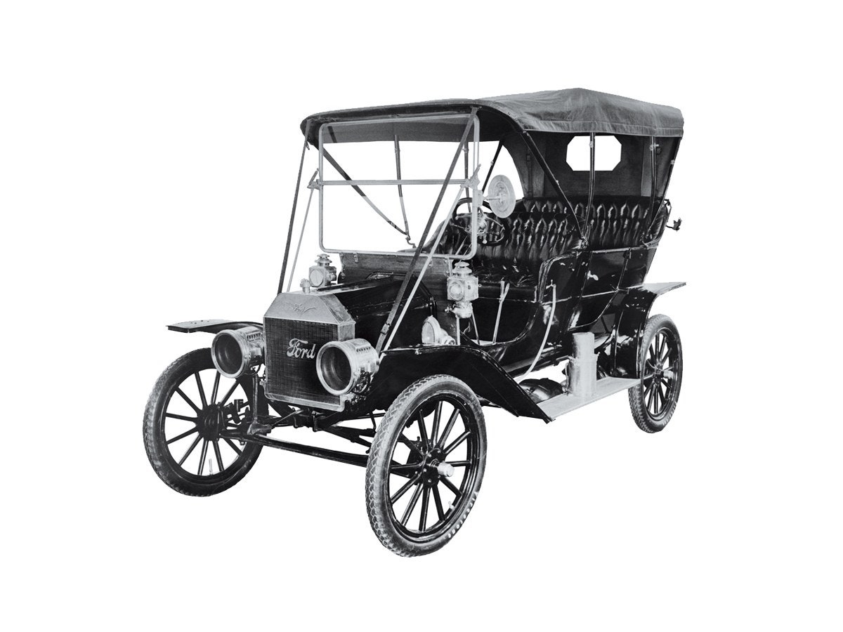 when was the first manual car made