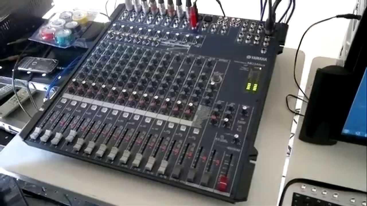 youtube yamaha mg16 mixer manual